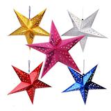 Christmas Five Star Pendant
